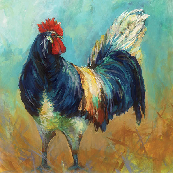 Wall Art - Painting - Cocky by Jeanette Vertentes
