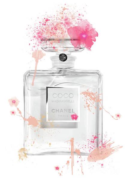 Mademoiselle Digital Art - Coco Mademoiselle Chanel Perfume - 10 by Prar Kulasekara