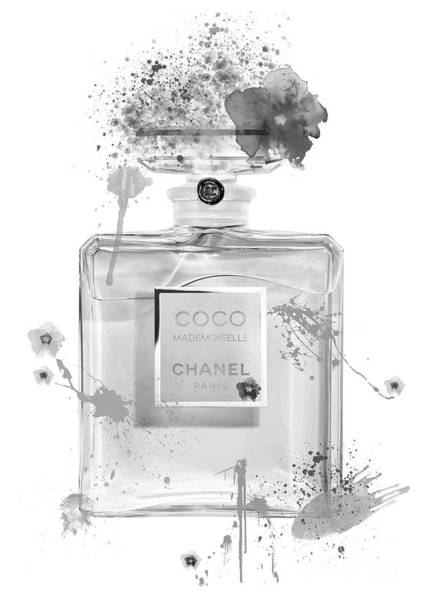 Mademoiselle Digital Art - Coco Mademoiselle Chanel Perfume - 11 by Prar Kulasekara