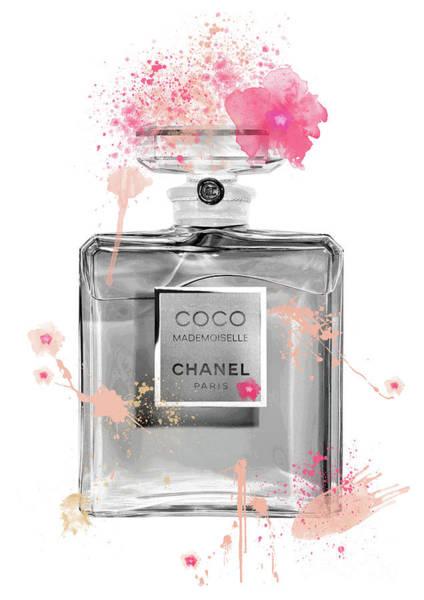 Mademoiselle Digital Art - Coco Mademoiselle Chanel Perfume - 12 by Prar Kulasekara