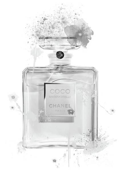 Mademoiselle Digital Art - Coco Mademoiselle Chanel Perfume - 17 by Prar Kulasekara