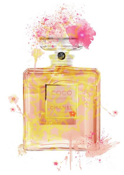 Mademoiselle Digital Art - Coco Mademoiselle Chanel Perfume - 34 by Prar Kulasekara