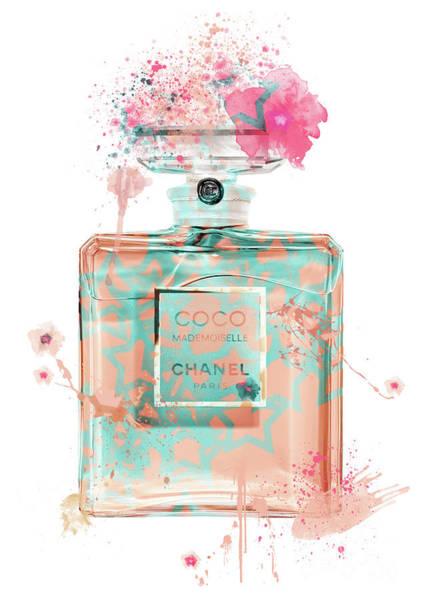 Mademoiselle Digital Art - Coco Mademoiselle Chanel Perfume - 35 by Prar Kulasekara