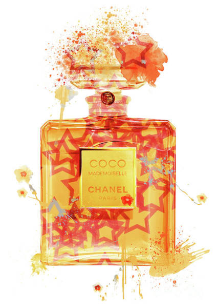 Mademoiselle Digital Art - Coco Mademoiselle Chanel Perfume - 41 by Prar Kulasekara