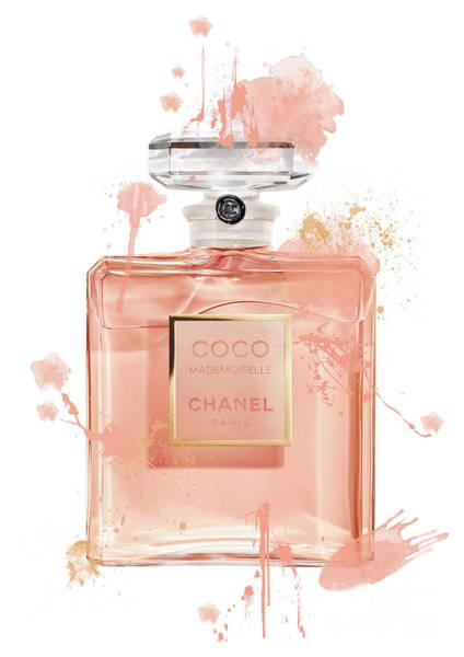 Mademoiselle Digital Art - Coco Mademoiselle Chanel Perfume - 7 by Prar Kulasekara