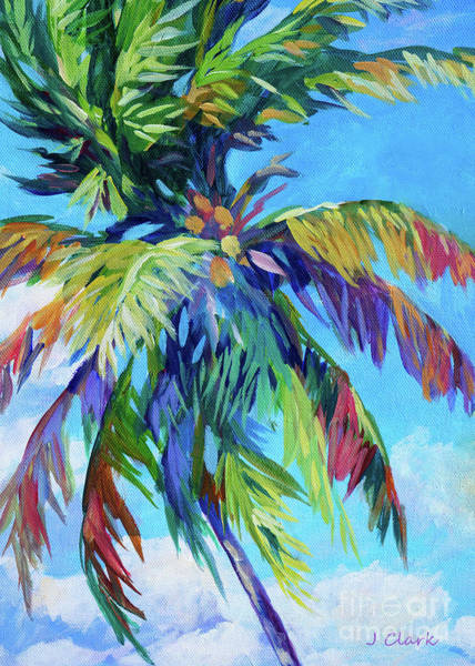 Coconut Painting - Coconut Palm  by John Clark