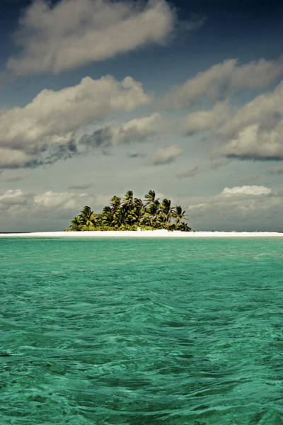 Distant Trees Wall Art - Photograph - Cocos Islands Indian Ocean by Mlenny