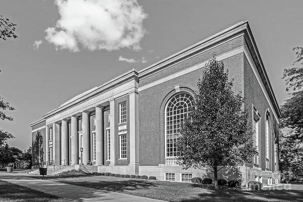 Iowa Photograph - Coe College Stewart Memorial Library by University Icons