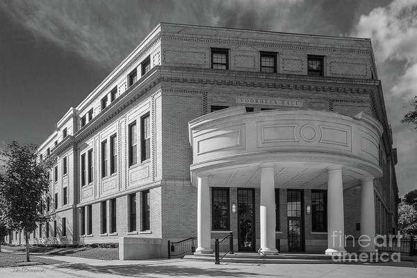 Iowa Photograph - Coe College Voorhees Hall by University Icons