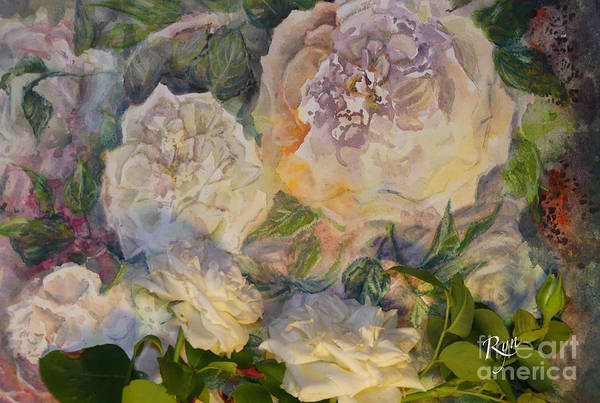 Painting - Coeur De Neige Rose Art And Flower by Ryn Shell