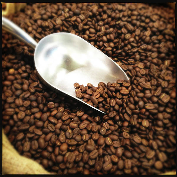Retail Photograph - Coffee Beans For Sale by Nathan Blaney
