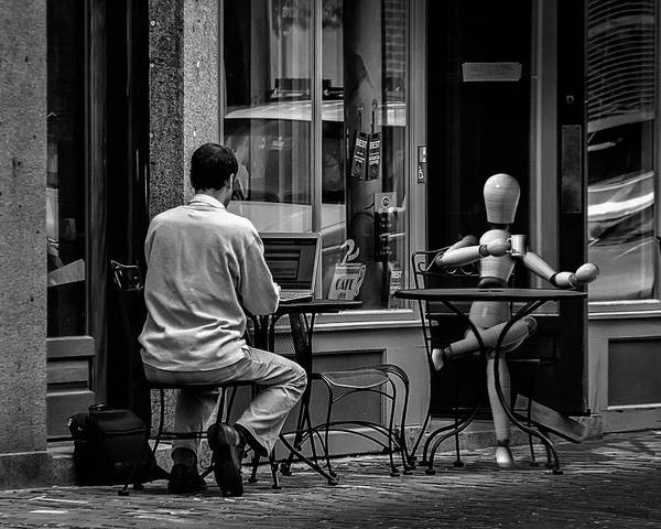 Photograph - Coffee Break by Bob Orsillo