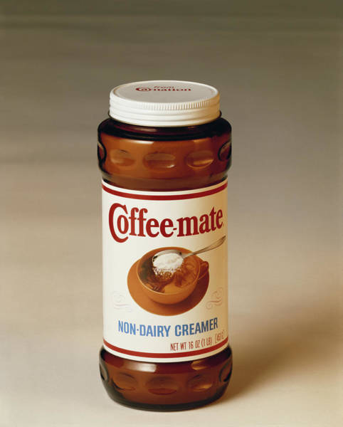 1981 Photograph - Coffee Creamer Jar, Close-up by Tom Kelley Archive