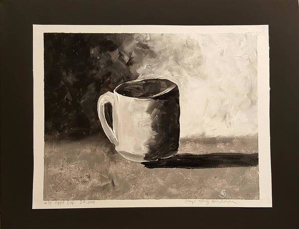Painting - Coffee Cup by Cheryl Nancy Ann Gordon
