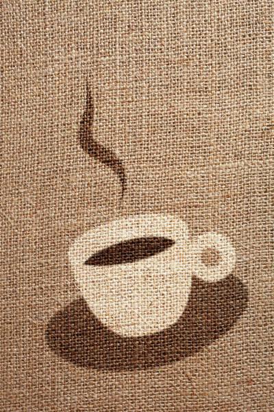 Fiber Photograph - Coffee Cup by Malerapaso