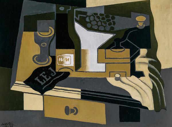 Wall Art - Painting - Coffee Grinder, 1920 by Juan Gris