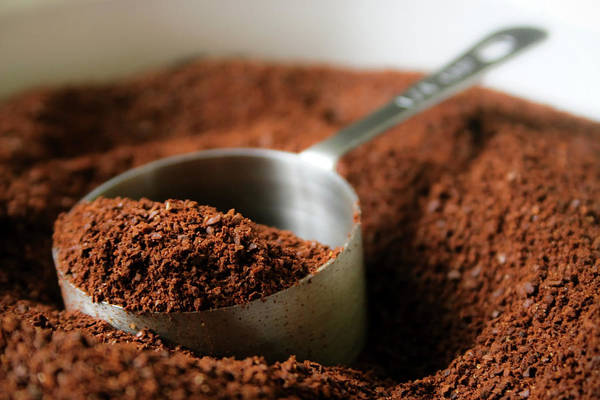 Ground Photograph - Coffee Grounds by Steven Brisson Photography