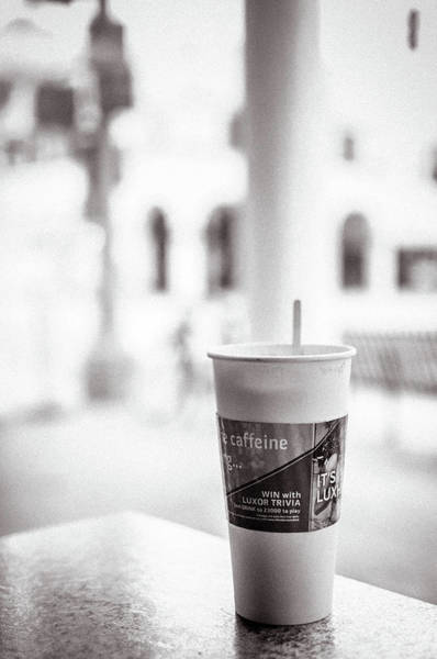 Wall Art - Photograph - Coffee In Los Angeles by Rosangela Lima