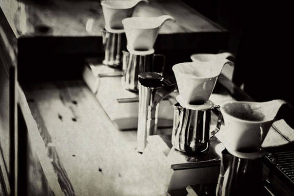 Retail Photograph - Coffee Shop by Hilde Wegner . Photography