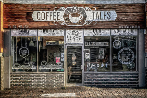 Wall Art - Photograph - Coffee Tales by Chris Fletcher