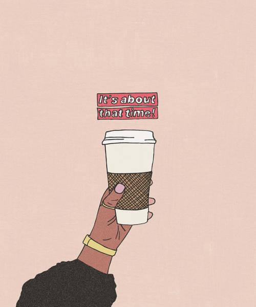 Digital Art - Coffee Time by Cortney Herron