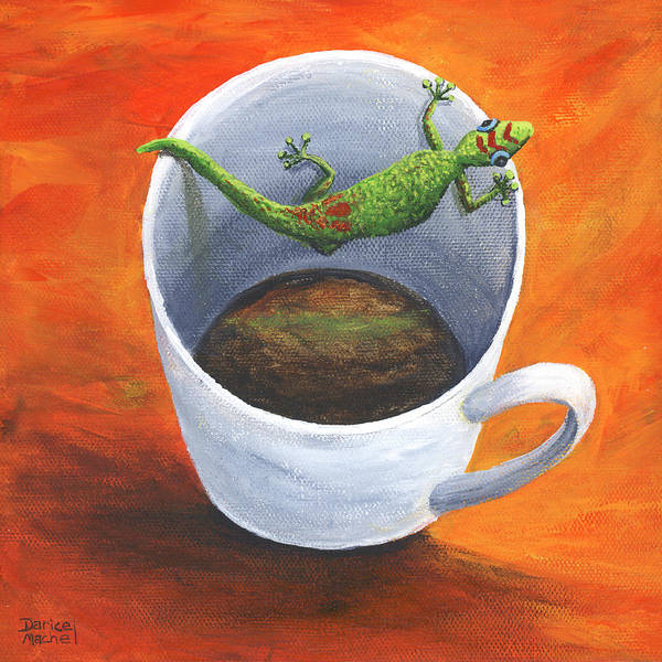 Painting - Coffee With A Friend by Darice Machel McGuire