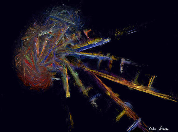 Digital Art - Cognitive Outbreak by Rein Nomm