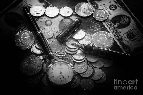 Photograph - Coins Of Time by Dale Powell