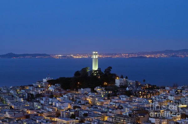 Photograph - Coit Tower, 2007 by Carol Highsmith