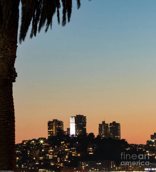 Coit Tower Photograph - Coit Tower Twilight by Mitch Shindelbower
