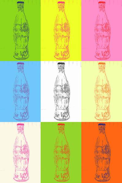 Wall Art - Photograph - Coke Pop Art by Geraldine Scull