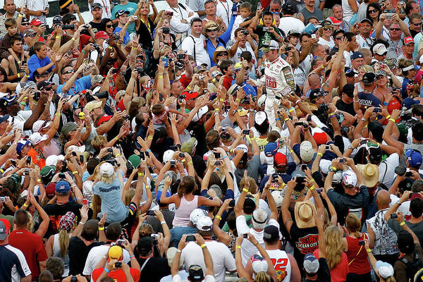 Topics Photograph - Coke Zero 400 Powered By Coca-cola by Mike Ehrmann