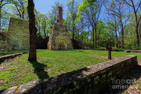 Wall Art - Photograph - Cold Blast Furnace  by Larry Braun
