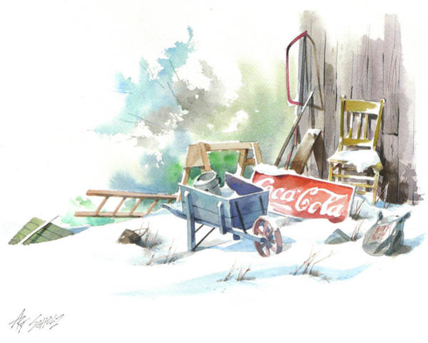 Cold Cola Art Print by Art Scholz