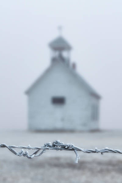 Photograph - Cold Morning At The Church by Darren White