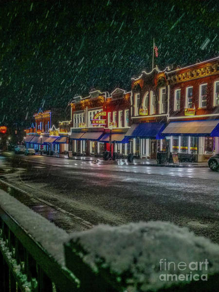 Photograph - Cold Night In Cripple Creek by Tony Baca