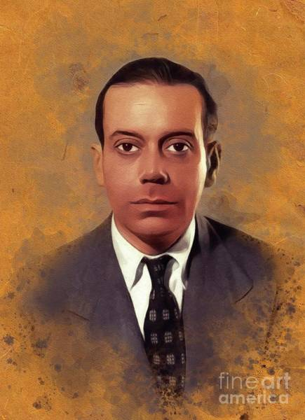 Wall Art - Painting - Cole Porter, Music Legend by John Springfield