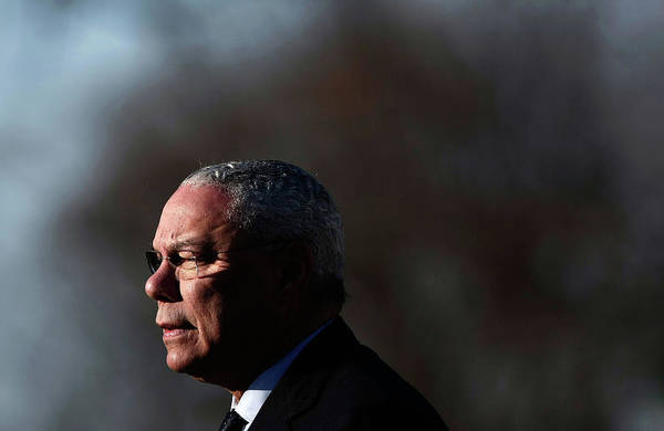 Wall Art - Photograph - Colin Powell Speaks At Above And Beyond by Win Mcnamee