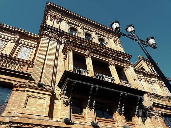 Photograph - Coliseo De Sevilla Building by John Rizzuto