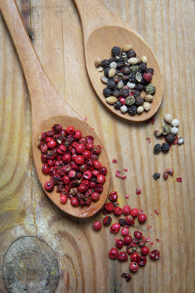 Wall Art - Photograph - Collection Of Aromatic Herbal Spices by Michalakis Ppalis