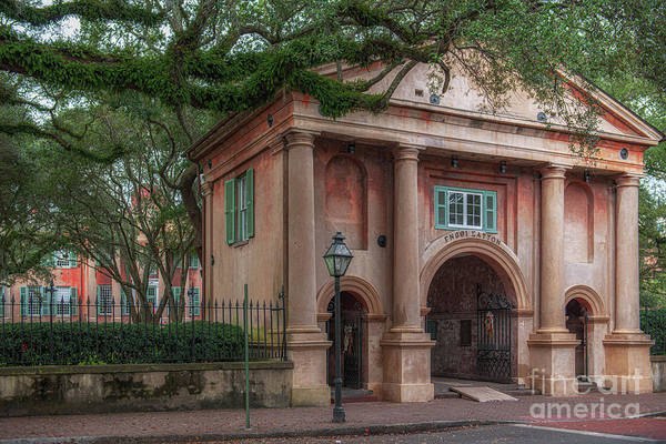 Photograph - College Of Charleston - Porters Lodge - College Memories by Dale Powell