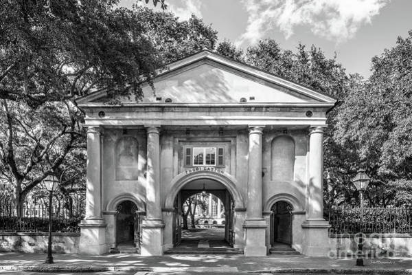 Photograph - College Of Charleston Porters Lodge by University Icons