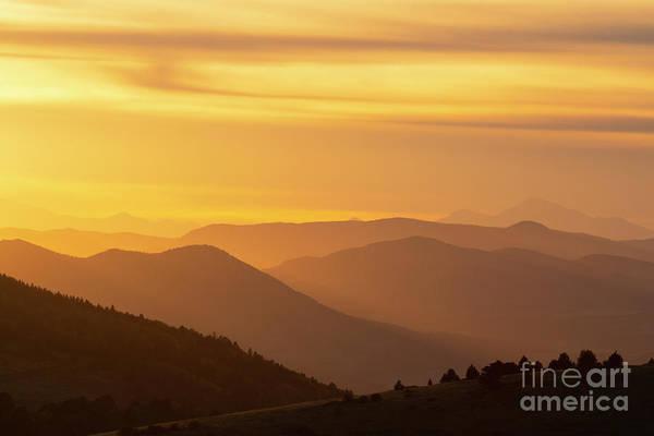 Wall Art - Photograph - Collegiate Peaks Sunset by Steve Krull