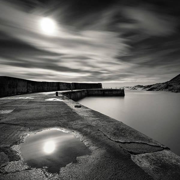Wall Art - Photograph - Collieston Breakwater by Dave Bowman