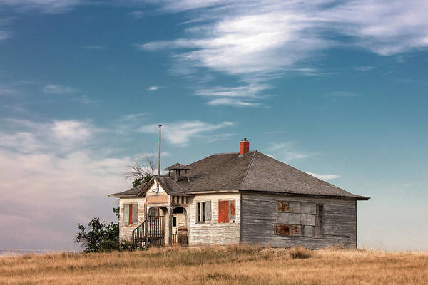 Schoolhouse Photograph - Collins School by Todd Klassy