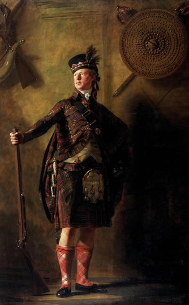 Colonel Alastair Ranaldson Macdonell Of Glengarry, 1812 Art Print
