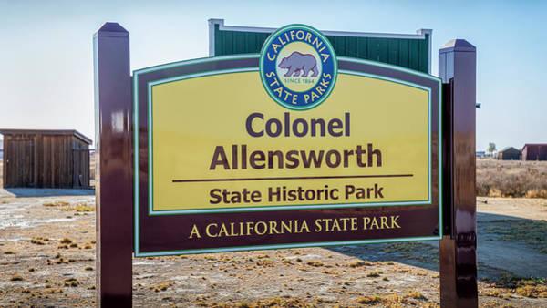 Photograph - Colonel Allen Allensworth State Park by Gene Parks