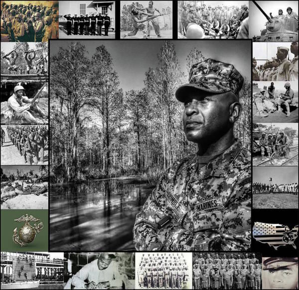 Photograph - Colonel Trimble Collage by Al Harden