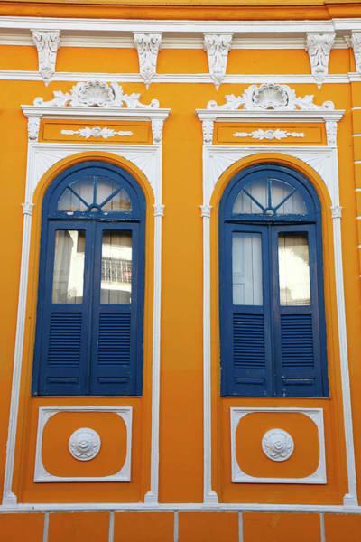 Pelourinho Photograph - Colonial Buildings In Carmo District by Yadid Levy / Robertharding