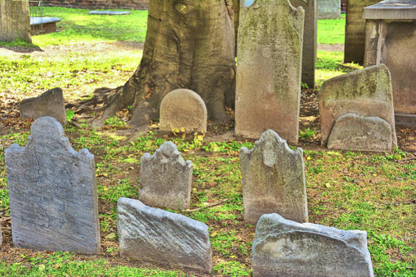 Photograph - Colonial Graveyard by JAMART Photography